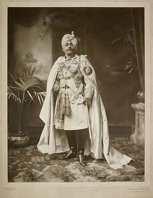 Major General Photograph - Major General Hh Maharaja Sir Pertab Sing by British Library