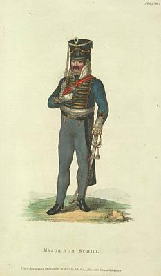 Major Von Schill Art Print by British Library