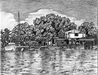 Majuro Harbor Art Print