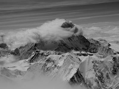 Cloud Photograph - Makalu by Leanna Shuttleworth