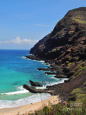 Makapu'u Beach 2 Art Print
