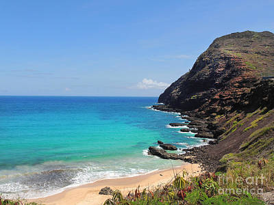 Photograph - Makapu'u Beach  by Kristine Merc