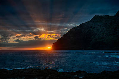 Makapuu Sunrise Art Print