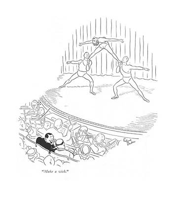 Rde Drawing - Make A Wish by Richard Decker