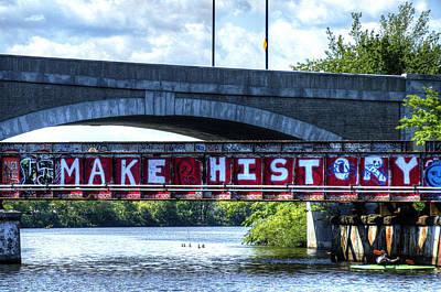 Make History Boston Art Print