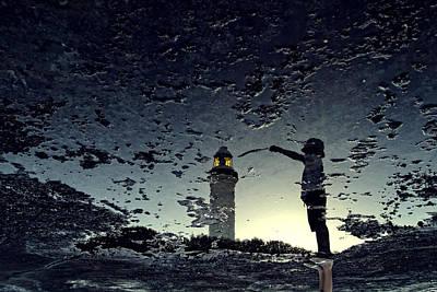 Beata Photograph - Make It Possible by Beata  Czyzowska Young