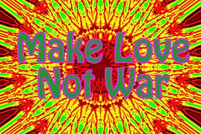 Photograph - Make Love Not War 1 by Sheri McLeroy