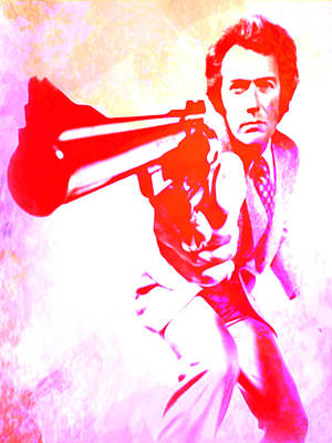 Dirty Harry Painting - Make My Day by Brian Reaves