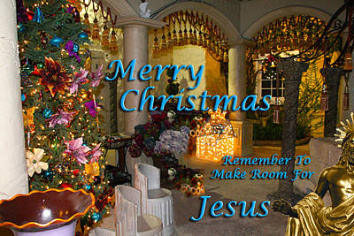 Photograph - Make Room For Jesus7 by Terry Wallace
