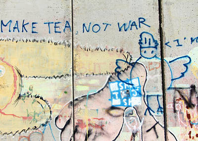 Photograph - Make Tea Not War by Munir Alawi