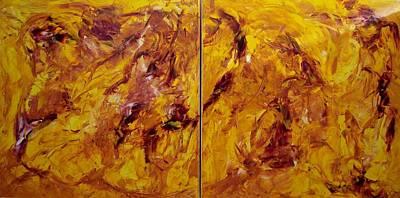 Painting - Make That Leap by Gunter  Tanzerel