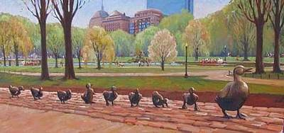 Painting - Make Way For Ducklings by Dianne Panarelli Miller