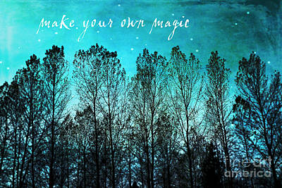 Make Your Own Magic Art Print by Sylvia Cook