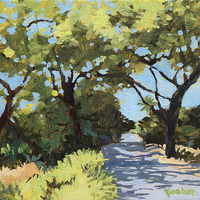 Haleiwa Painting - Makena Beach Drive by Stacy Vosberg