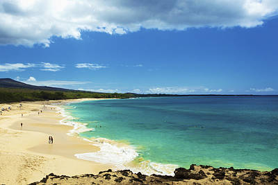 Makena Beach Lookout Print by Kicka Witte
