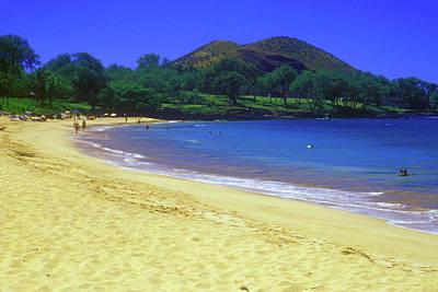 Photograph - Makena Beach Maui Hawaii by John Burk