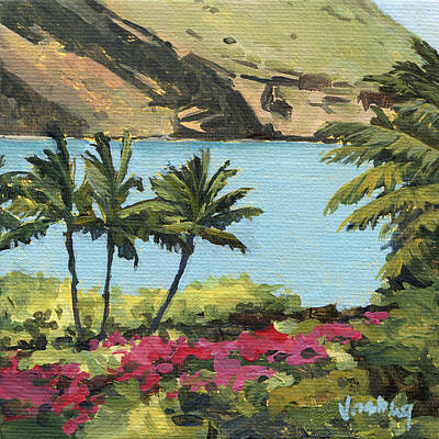 Haiku Wall Art - Painting - Makena Palms by Stacy Vosberg