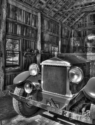 Photograph - Maker's Mark Firehouse 2 Bw by Mel Steinhauer