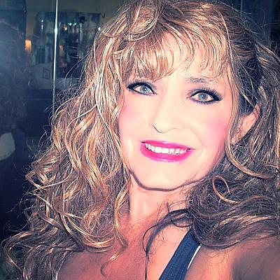 Etc. Digital Art - Makeup Art by HollyWood Creation By linda zanini