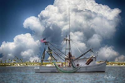 Photograph - Nautical Art - Making A Trip by Barry Jones