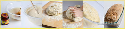 Bread Making Photograph - Making Bread by Science Source