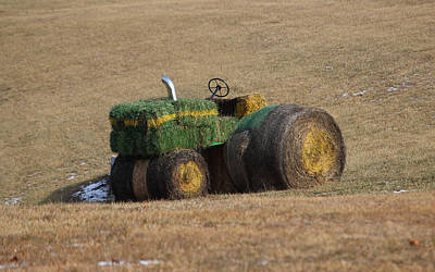 Up Up And Away - Making hay by Jewels Hamrick
