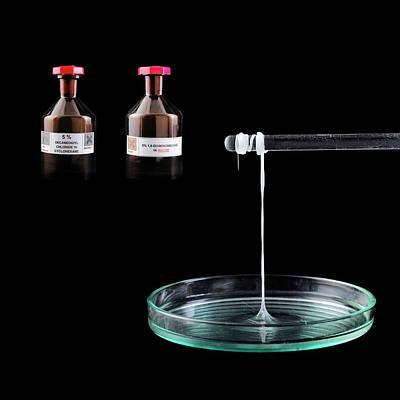 Polymer Photograph - Making Nylon by Science Photo Library