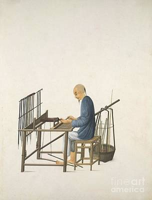 Chinese Artworks Photograph - Making Smoking Pipes, 19th-century China by British Library
