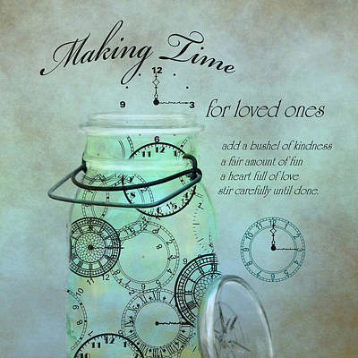 Photograph - Making Time by Robin-Lee Vieira