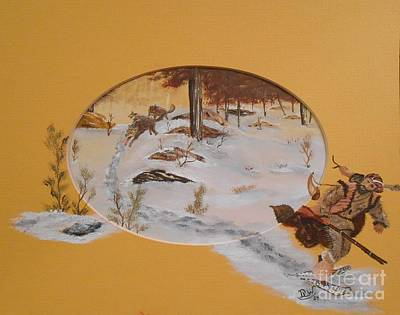 Mountain Painting - Making Tracks by Duane West
