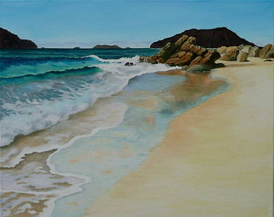 Painting - Making Waves by Jo Appleby