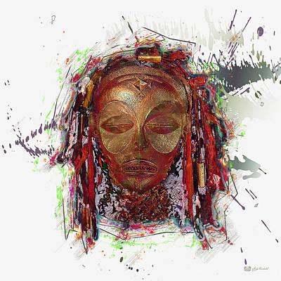 Makonde Mapiko - Lipiko Mask Original