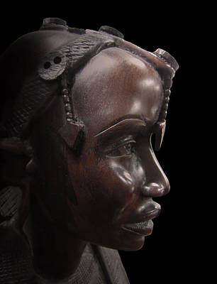 Huntress Photograph - Makonde Tribe Woman by Daniel Hagerman