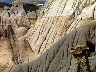 Montana State Parks Photograph - Makoshika State Park 3 by Leland D Howard