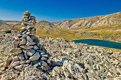 Photograph - Mala Luka Stone And Sea Desert by Brch Photography
