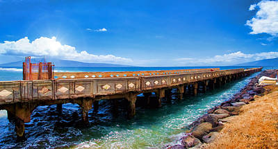 Photograph - Mala Wharf Panorama 1 by Dawn Eshelman