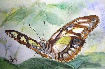 Painting - Malachite by Peggy King