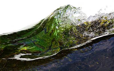 Photograph - Malachite Water #2 by Robert Woodward