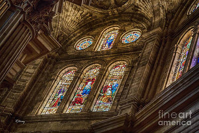 Malaga Cathedral II Print by Rene Triay Photography