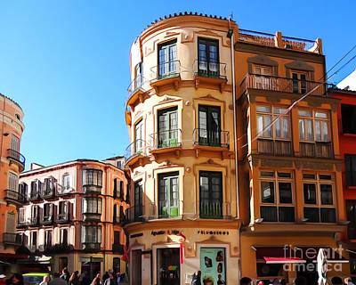 Photograph - Malaga Spain by Lutz Baar
