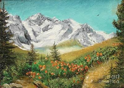 Art Print featuring the painting Malaiesti by Sorin Apostolescu