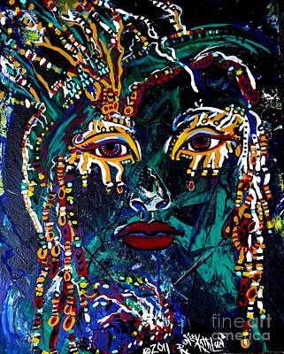 Malakaii Art Print by Kath MoonArts