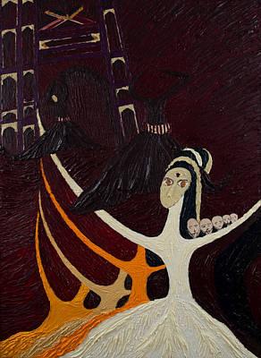 Taliban Painting - Malala The Brave Girl by Haris Sheikh