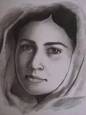 I Am Malala Print by Amber Stanford
