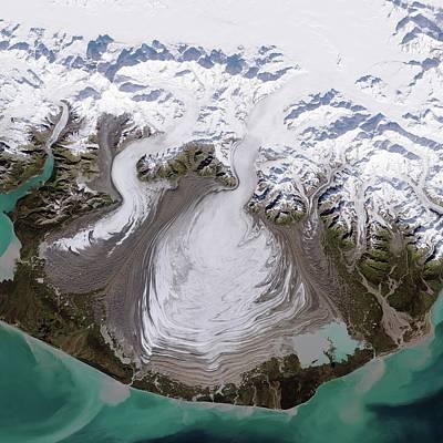 Agassiz Photograph - Malaspina Glacier by Nasa