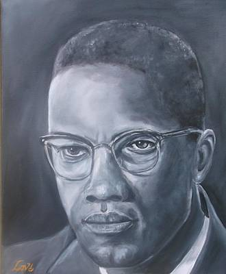 Painting - Malcolm by Joseph Love