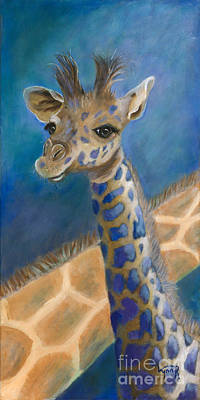 Giraffe Painting - Malcolm by Lynn Rattray