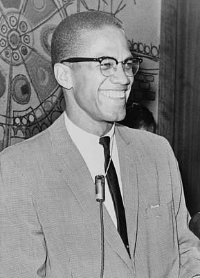 Digital Art - Malcolm X by Ed Ford