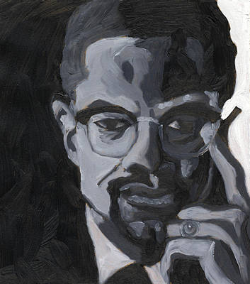 Malcolm X Art Print by Isaac Walker