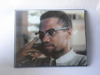 Malcom X Art Print by Steven lamar Means